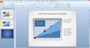 free line chart powerpoint template free powerpoint templates