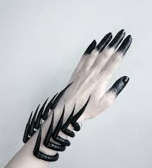 black claws claw black bracelets witchy treasures strega fashion