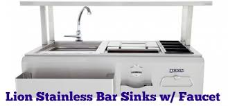 Outdoor Kitchen Sink Faucet by Lion Stainless Bar Sinks W Faucet For Your Outdoor Kitchen