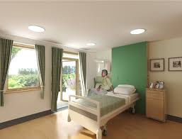 safe patient transfer at hospice with hidden hoist