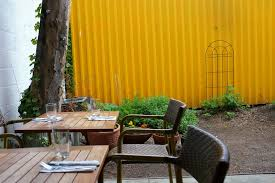 Restaurant Patio Planters by Top Restaurants For Outdoor Dining In Nyc Including Gardens