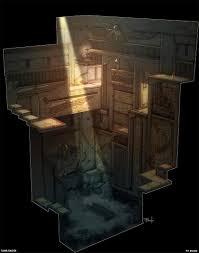 egypt pit room environment concept art pinterest concept