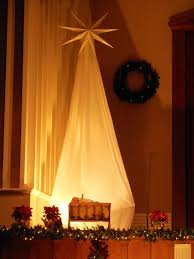 Decoration Of Christmas Star by Best 25 Church Christmas Decorations Ideas On Pinterest Country