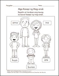 mga kasapi ng pamilyang pilipino samut samot