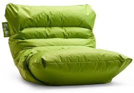 furniture large green parachute bean bag with foam bean bag chair