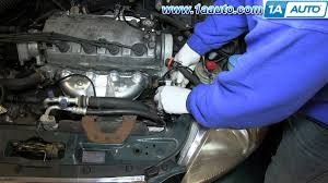 how to install replace power steering pump 1996 00 1 6l honda