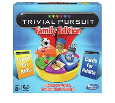trivial pursuit 80s buy trivial pursuit family edition board from hasbro gaming