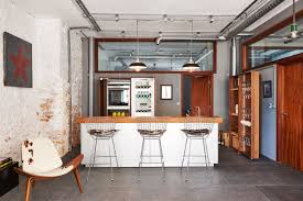 warehouse kitchen design old meets new the wood and metal kitchen finish in this bulthaup