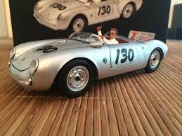 classic porsche spyder porsche 550 a spyder little toy car die cast and