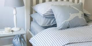 ticking stripe blue duvet cover kids duvet sets luxury boys