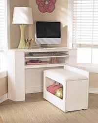 beautiful white corner desk thedigitalhandshake furniture Corner Desk Small