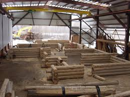 Log Floor by How These Michigan Log Home Builders Construct Your Home