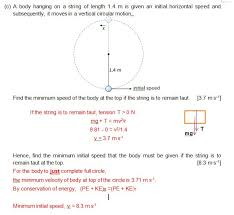 h2 only circular motion tutorial physics worksheets