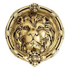 lion u0027s head door knocker