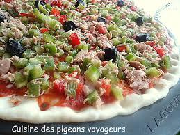 cuisine des pigeons voyageurs c hier de recettes des pigeons voyageurs pizza aux deux