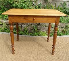 table bureau bois table bureau en bois naturel plateau coins cassés