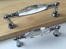 crystal cabinet door handles 3 75 5 glass dresser pulls drawer pull handles by aroserambling