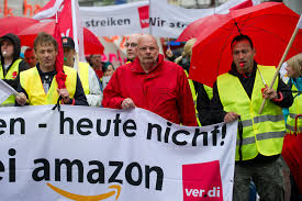 amazon germany german amazon workers strike again mobylives