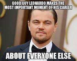 the best leonardo dicaprio wins the oscar meme reactions funny
