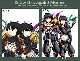 Monster Hunter Memes - improvement meme monster hunter by nightclaw534 on deviantart