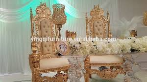 his and hers wedding chairs style wedding royal king throne chairs for sale view royal