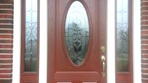 Window Inserts For Exterior Doors Exterior Glass Front Doors Glnce Stained Glass Wood Front Door