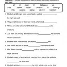 preposition worksheet free worksheets library download and print