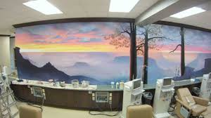 grand canyon mural time lapse youtube