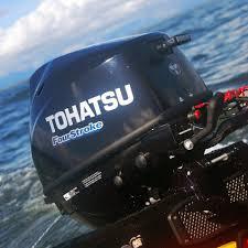 tohatsu 4 stroke 9 8hp outboard motor tiller handle seamax marine