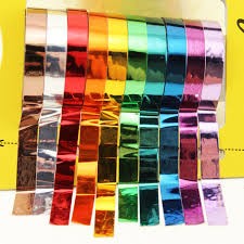 mylar wrapping paper set of 10 foil washi paper craft mylar scrapbooking