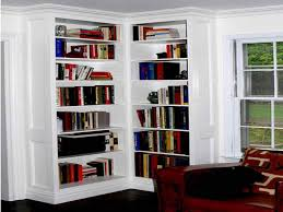Build Corner Bookcase Built In Corner Bookshelves How To Build Decorative Corner
