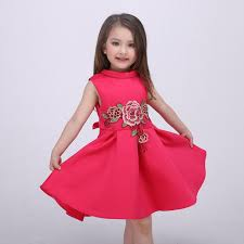 girls dress high grade europe dresses embroidered princess costume