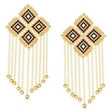 images of earrings in gold gold earrings buy gold earrings designs online at best price in