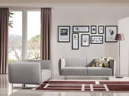 Brown Fabric Sofa Set Divani Casa Medora Modern Grey U0026 Yellow Fabric Sofa Set Sofas