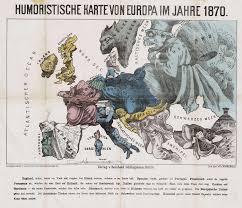 Germany Google Maps by Humoristische Karte Von Europa Im Jahre 1870 Historiana Eu
