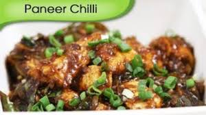 Chinese Main Dish Recipe - paneer chilli dry chinese main course cottage cheese recipe by