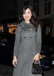 daisy lowe at dolce u0026 gabbana christmas tree party in london