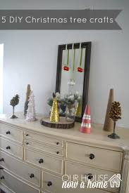 5 diy simple christmas tree crafts adding the glitter u2022 our house