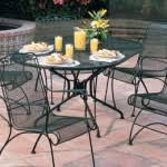 Black Rod Iron Patio Furniture 4 Advantages Of Wrought Iron Patio Furniture Ideas 4 Homes
