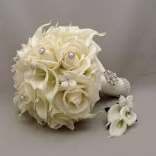 silk flowers for weddings wedding bouquets silk vs real flowers forever in bloom