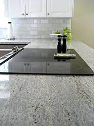 White Granite Kitchen Countertops by Blue Pearl Granite Countertop White Kitchen Cabinets With