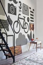 Best  Graphic Wall Ideas On Pinterest Office Graphics Office - Designs for pictures on a wall