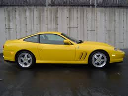 ferrari yellow paint code yellow ferrari 550 maranello