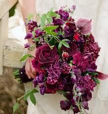 Purple Wedding Flowers 69 Dramatic Burgundy Wedding Ideas Happywedd Com