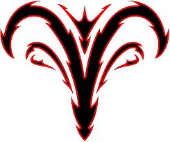 tribal aries zodiac tattoo design tattoo ideas