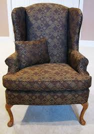 Patterned Slipcovers For Chairs Bedroom Sure Fit Plum Wingback Chair Cover Combined Contemporary