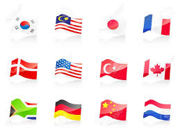 Country Flag Images 12 Country Flags Icon For Design Royalty Free Cliparts Vectors