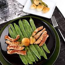 cuisiner des haricots plats poê de veau au gingembre et haricots plats