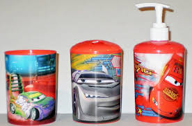 Disney Cars Bathroom Amazing Colorful Bathroom Accessories With Colorful Peace Signs