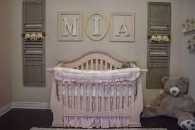 Shabby Chic Nursery Furniture by Shabby Chic Baby Nursery Project Nursery